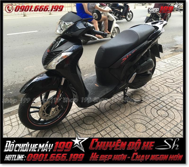 Xe Sh Việt Nam 150 2013 độ đầu đèn giống Sh italy 150i 2011 giá bao nhiêu ?