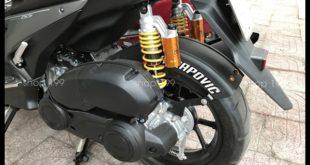 Picture: Phuộc sau nổi bật với vẻ ngoài mạnh mẽ độ cho xe Yamaha NVX 155-125cc