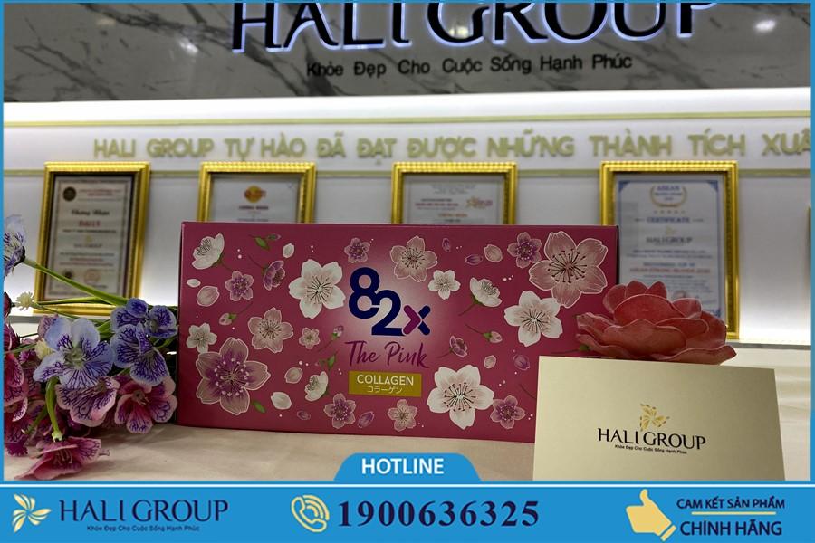Nước Uống 82x The Pink Collagen Nhật Bản giá bao nhiêu?